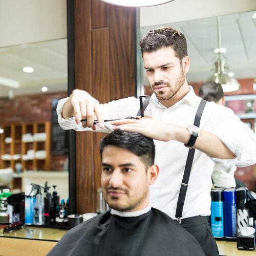 slobeautycollege SLO Beauty College San Luis Obispo haircut style cut barber fade trim